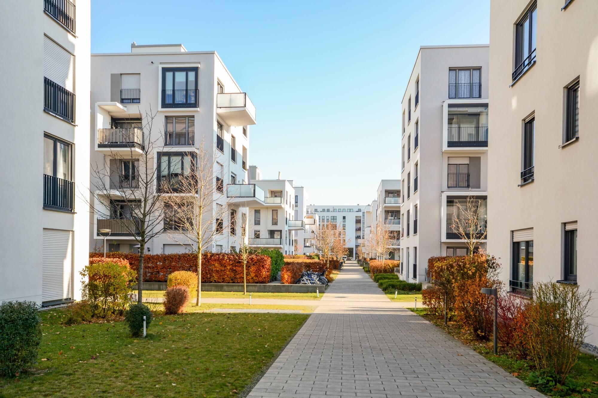 Honorierung von Planungsleistungen für Mehrfamilienhäuser – Ein, zwei oder fünf Gebäude