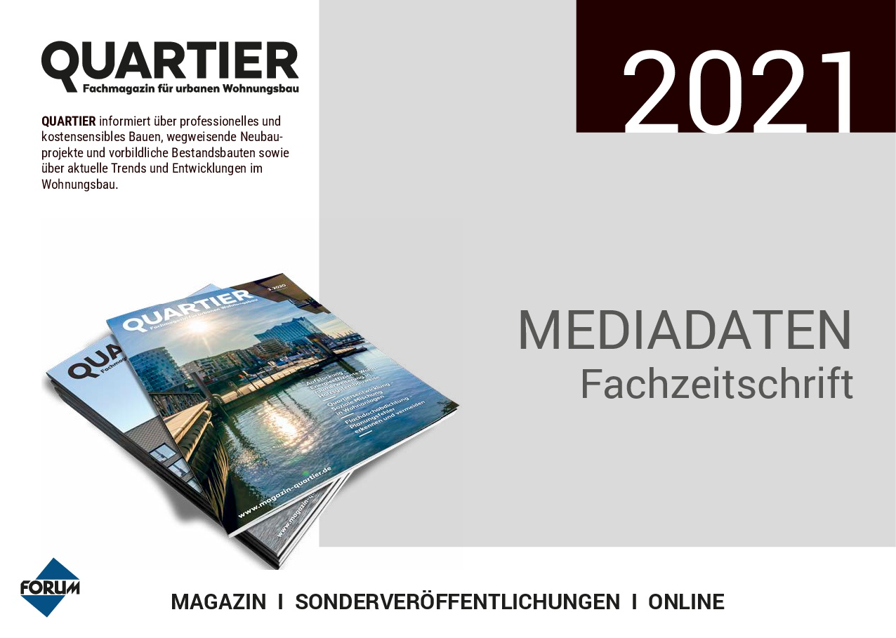 Mediadaten Quartier 2021